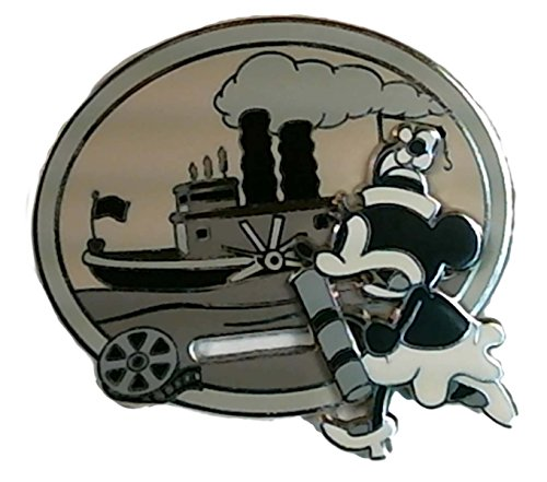 Disney Pins – Walt's Classic Collection – Steamboat Willie – Minnie Mouse Pin 75484, multicolor, pequeño