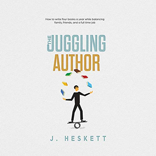 The Juggling Author cover art