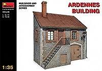 "Miniart 1:35スケール ""Ardennes Building"" プラスチックモデルキット Miniart"