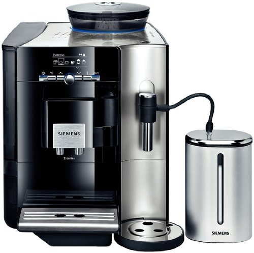 Siemens TE706509DE Espresso-/Kaffeevollautomat / EQ.7 Plus / 1700 Watt max. / Klavierlack schwarz / Stiftung Warentest: GUT (12/2010)