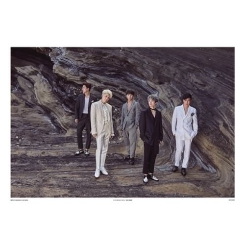 SECHSKIES - THE 20TH ANNIVERSARY EXHIBITION [POSTER SET] UNFOLDED POSTER IN TUBE