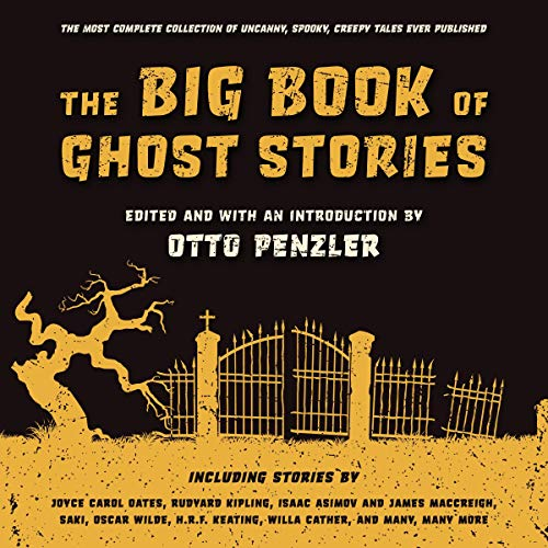 The Big Book of Ghost Stories cover art