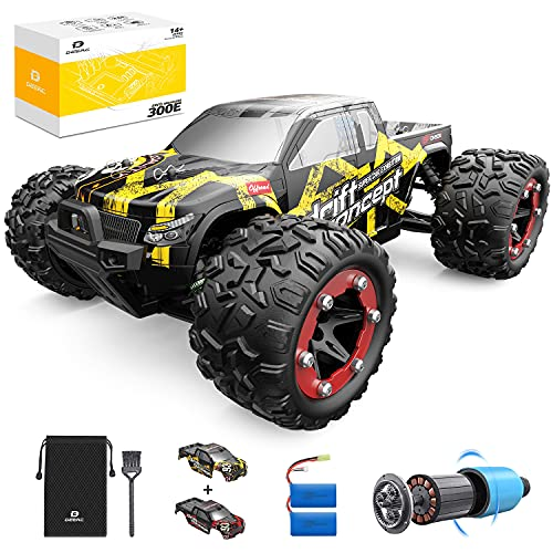 DEERC Brushless RC Cars 300E 60KM/H High Speed Remote Control Car 4WD 1:18...