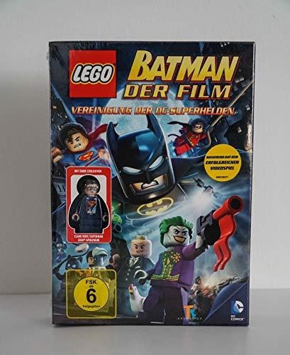 Lego Batman der Film - Vereinigung der Superhelden, mit einer exklusiven Clark Kent/Superman Lego-Spielfigur
