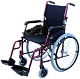 Karman LT-980-BD 24 Pound Ultra Lightweight Wheelchair, Burgundy
