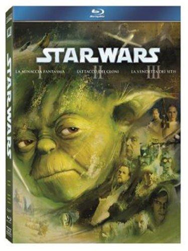 Star Wars - Trilogia Prequel 3 Blu-ray [Italia] [Blu-ray]