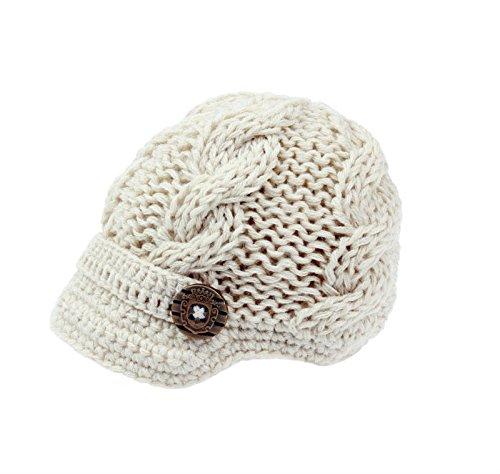 zefeb Baby Boys Crochet Knit Newsbo…