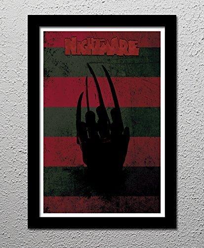 Nightmare on Elm Street - Freddy Krueger - Wes Craven - Robert Englund - Original Minimalist Art Poster Print