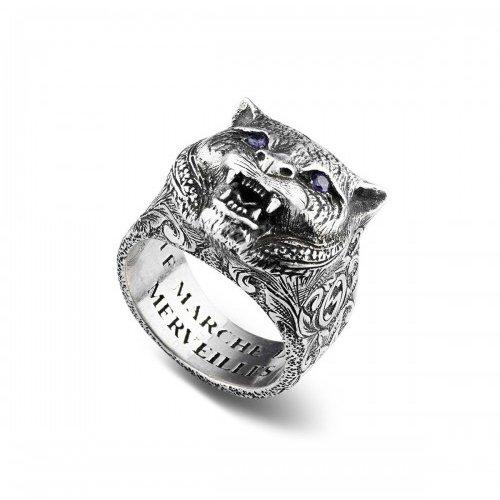 Gucci Ring Garden Le Markes van Merveilles Felino YBC524585001