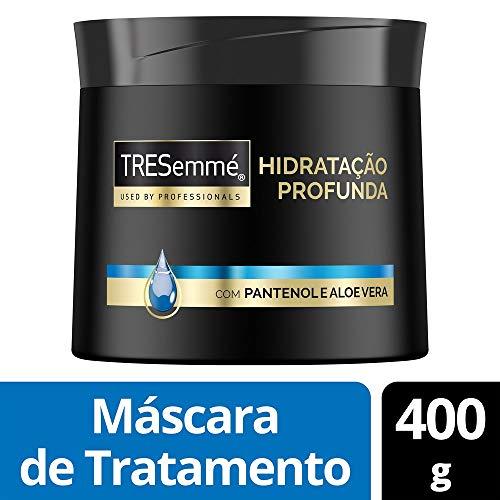 Máscara de Tratamento Tresemmé Hidratação Profunda 400 Gr, TRESemmé, Branco