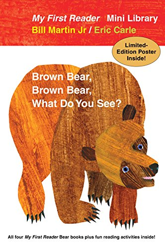 My First Reader Mini Library: Brown Bear, Brown Bear, What Do You See? / Polar Bear, Polar Bear, What Do you Hear? / Panda Bear, Panda Bear, What Do You See? / Baby Bear, Baby Bear, What Do You See?