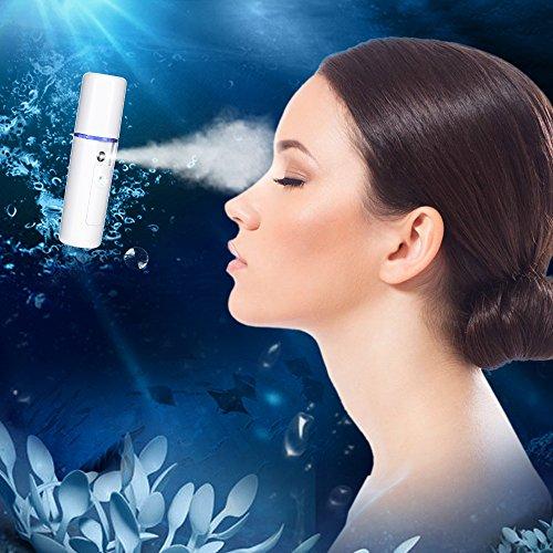 Bromose nano vapor pulverizador portátil de humedad cara mini Cool Mist facial Señor nano Facial Mist Sprayer USB carga