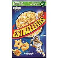 Cereales Nestlé Estrellitas - Cereales de trigo y maíz tostados con miel - 14 paquetes de cereales de 450g