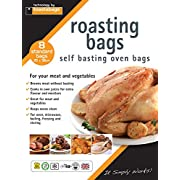 Toastabags Standard Roasting Bags, Transparent, 25 x 38 cm, Pack of 8-P