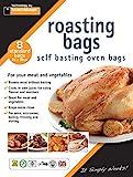 Toastabags estándar Roasting bolsas, transparente, 25x 38cm, paquete de...