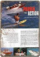 Boating proven in action ティンサイン ポスター ン サイン プレート ブリキ看板 ホーム バーために