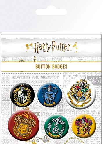 Harry Potter Wappen Badge Pack