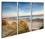islandburner Bild Bilder auf Leinwand Nordsee Strand Weg