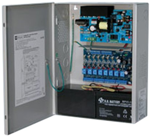 Power Supply 8 Fuse 12VDC Or 24VDC @ 6A