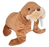 Wild Republic Walrus Plush, Stuffed Animal, Plush Toy, Gifts for Kids, Cuddlekins 8 Inches