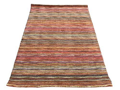 Sitap Teppich Handloom 111 Rot in, 170 x 240 Design Modern