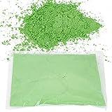 oueaen Polvo de Color 100g-100g/bolsa Polvo de celebración de Fiesta de Festival de harina de maíz de Color inofensivo(Verde)