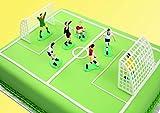 Wilton Kuchendekoration mit Schleife und Schnalle EACH Fußball