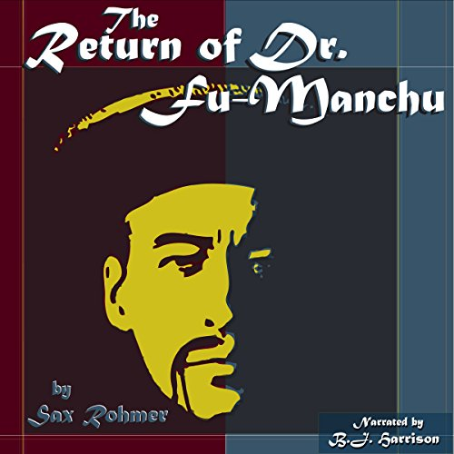 The Return of Dr. Fu-Manchu audiobook cover art