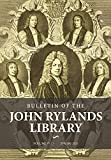 Bulletin of the John Rylands Library: Volume 97 Number 1