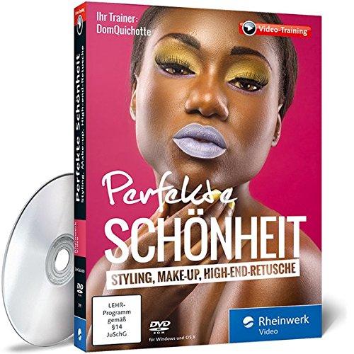 Perfekte Schönheit: Styling, Make-up, High-End-Retusche