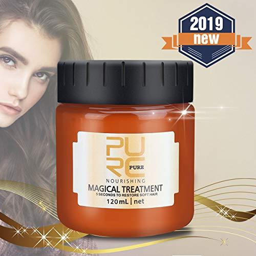 Charminer Masque Capillaire Traitement Magique 120ml, Hair Masque Cheveux, pour les Cheveux Secs et Abîmés, Masque Capillaire Réparateur en Profondeur (120ML)