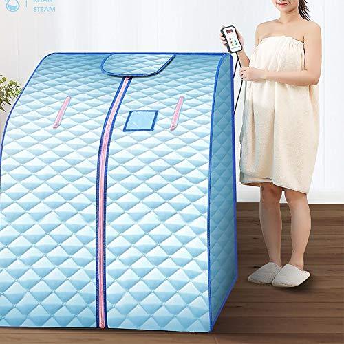 YUXINCAI Familien-Dampfbad Dampfsauna Box Körper Einzelklappdampfmaschine Dampfbad Vier Heizplatten