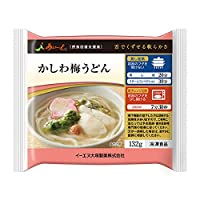 【冷凍介護食】摂食回復支援食あいーと かしわ梅うどん 132g