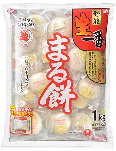 越後製菓 生一番 まるもち 袋1kg [4495]