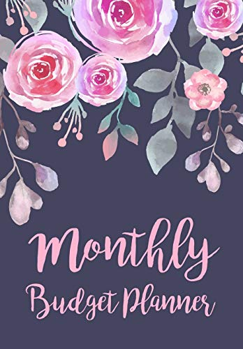 Monthly Budget Planner: Expense Finance Budget By A Year Monthly Weekly & Daily Bill Budgeting Planner And Organizer Tracker Workbook Journal | Blue ... Business Money Notebook Planning Worksheets)