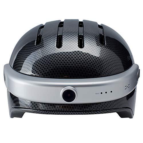 Airwheel C5 Intelligenter Helm mit Frontkamera und Bluetooth-Lautsprecher, Carbon Fiber, xl