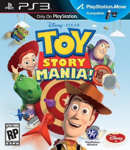 Toy Story Mania for PS3 Move by Disney Interactive Studios