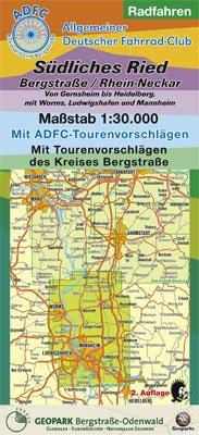 Radfahren, Südliches Ried /Bergstraße /Rhein-Neckar: Von Gernheim bis Heidelberg, mit Worms, Ludwigshafen und Mannheim. 1:30000. Mit ... Mit Tourenvorschlägen des Kreises Bergstraße