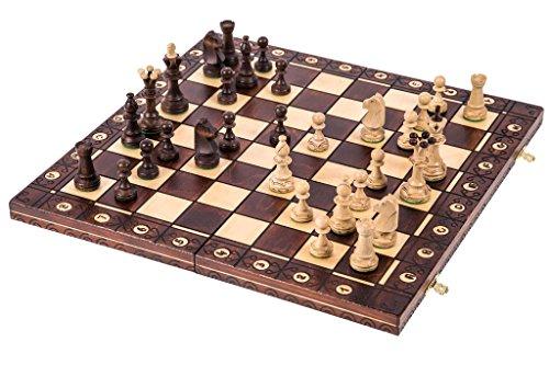 Square - Ajedrez de Madera - Consul Lux - 48 x 48 cm - Piezas de ajedrez & Tablero de ajedrez