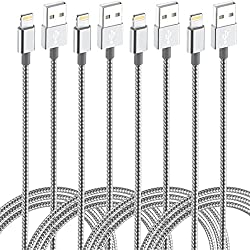 4 (Pack 10ft 6ft 6ft 3ft) iPhone Lightning Cable - As Low As $8.79!