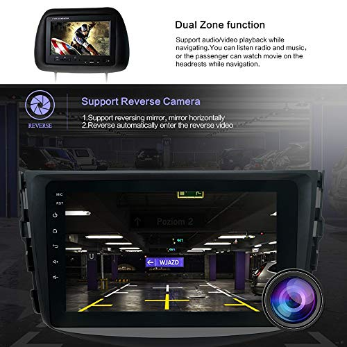 SWTNVIN Car Stereo for Toyota RAV4 2006 2007 2008 2009 2010 2011 2012,Android Double Din 8 inch HD Car Audio with 2G RAM 16G ROM,Support WiFi BT GPS Steering Wheel,Free Backup Camera&Microphone