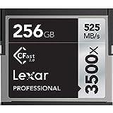 'Lexar lc256crbeu3500Professional 3500X (525mb/S) Pro CFast CompactFlash Tarjeta de Memoria, 256GB