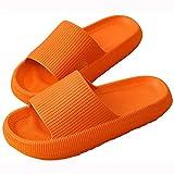 Zapatillas Ultra Suaves Zapatillas Unisex De Baño Sin Cordones Toboganes De Almohada Zapatos De Suela Gruesa Toboganes De Ducha De Secado Rápido Mujeres Hombre Chanclas Sandalias Baño Junto A La Pis