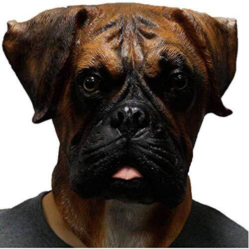 WWWL Mscara de Halloween para perro, mscara de Halloween, disfraz de cabeza de perro