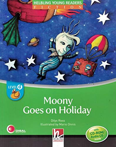 Moonie goes on holiday. Level D. Young readers. Con CD Audio: Level D