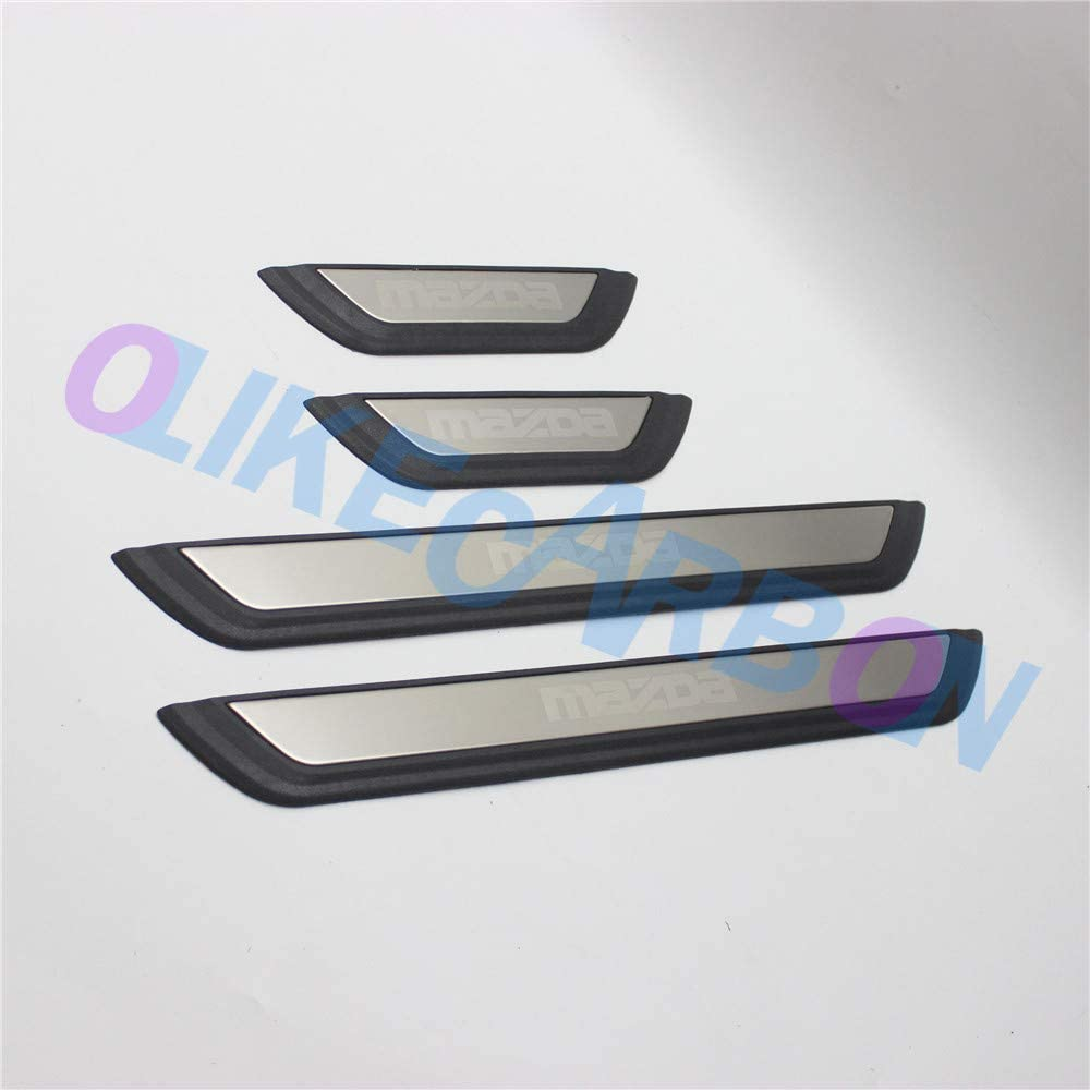 OLIKE for Max 42% OFF Mazda 3 Mazda3 2020 S 2021 Style Popular popular ABS+Stainless Fashion