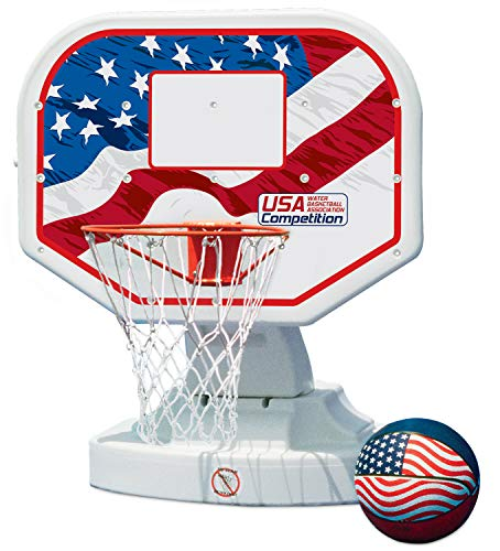 Poolmaster 72830 USA Competition Poolside Basketball Game, Blue