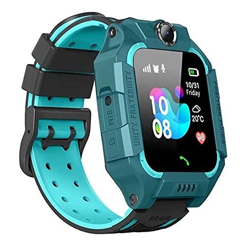 Relógio Inteligente Infantil Criança Rastreador Localizador C/câmera Anti-lost Sos Smartwatch AZUL