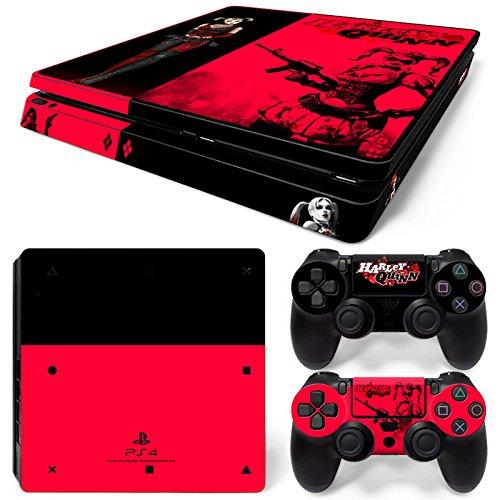 46 North Design Playstation 4 PS4 Slim Folie Skin Sticker Konsole HQ aus Vinyl-Folie Aufkleber Und 2 x Controller folie