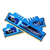 G.SKILL Ripjaws X Series 8GB (2 x 4GB) 240-Pin DDR3 SDRAM DDR3 2133 (PC3 17000) Desktop Memory Model F3-2133C10D-8GXM